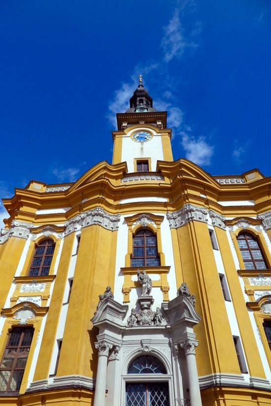 Das Kloster Neuzelle.