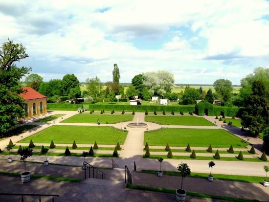 Der Park des Klosters Neuzelle.