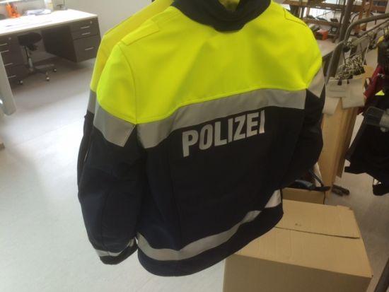 Das Produkt auch für die Polizei.