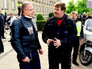 Im Gespräch mit Dr. Pawel Wróblewski von der Sejm.