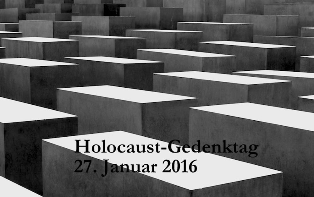 Holocaust Gedenktag Michael Thews Mdb