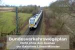 Gleis Luenen-Münster_Schrift