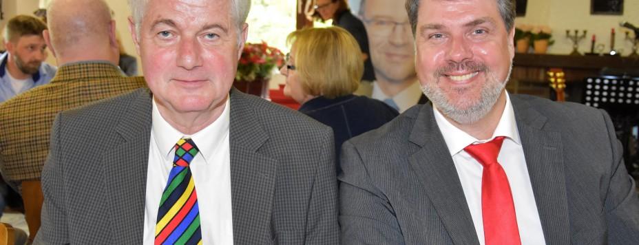 Michael mit Willi Stodollik
