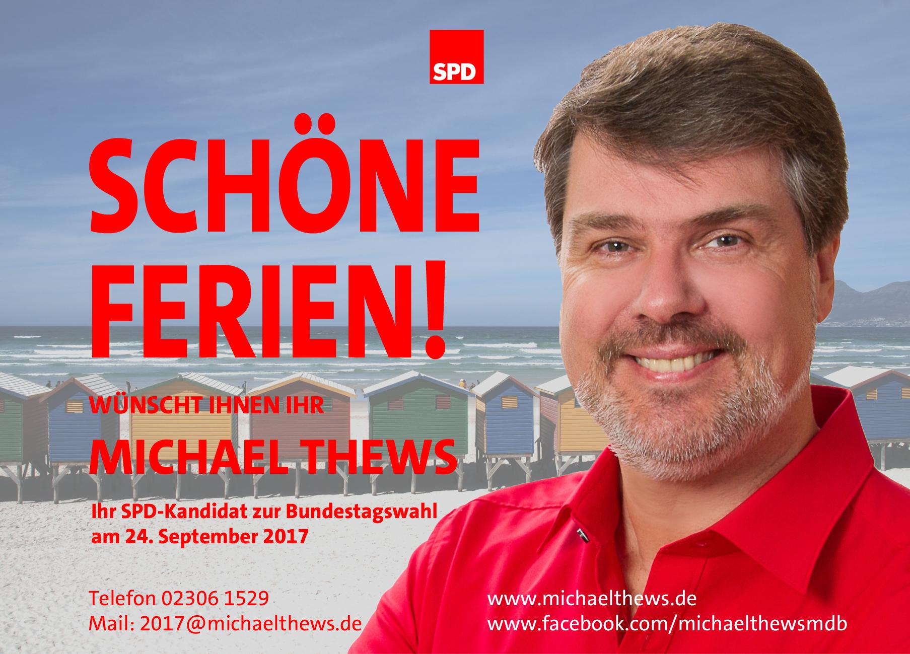 Ferien Postkarte Michael